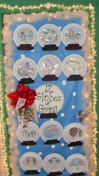 10 Gorgeous Classroom Christmas Door Decorating Contest Ideas