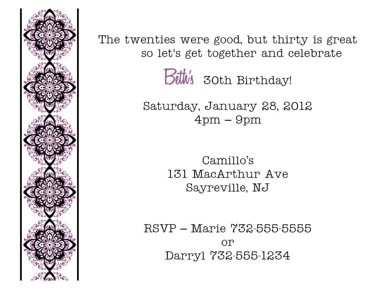 10 unique birthday party invitation