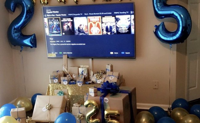 10 Most Recommended 25th Birthday Ideas For Boyfriend 2020