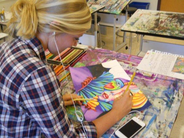Famous Art Project Ideas High School