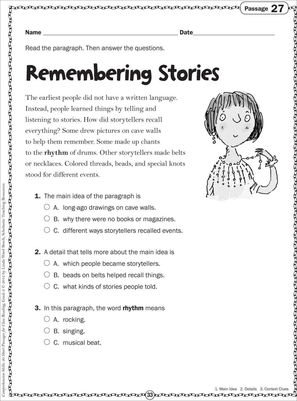medium resolution of 10 Attractive Main Idea And Details Worksheets 3Rd Grade 2021