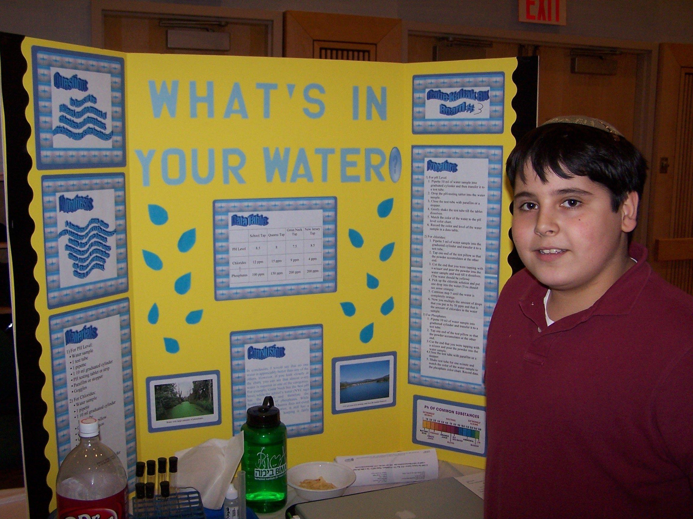 10 Beautiful 8th Grade Science Fair Ideas