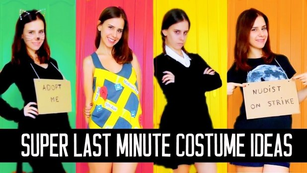 fast and easy halloween costumes halloween