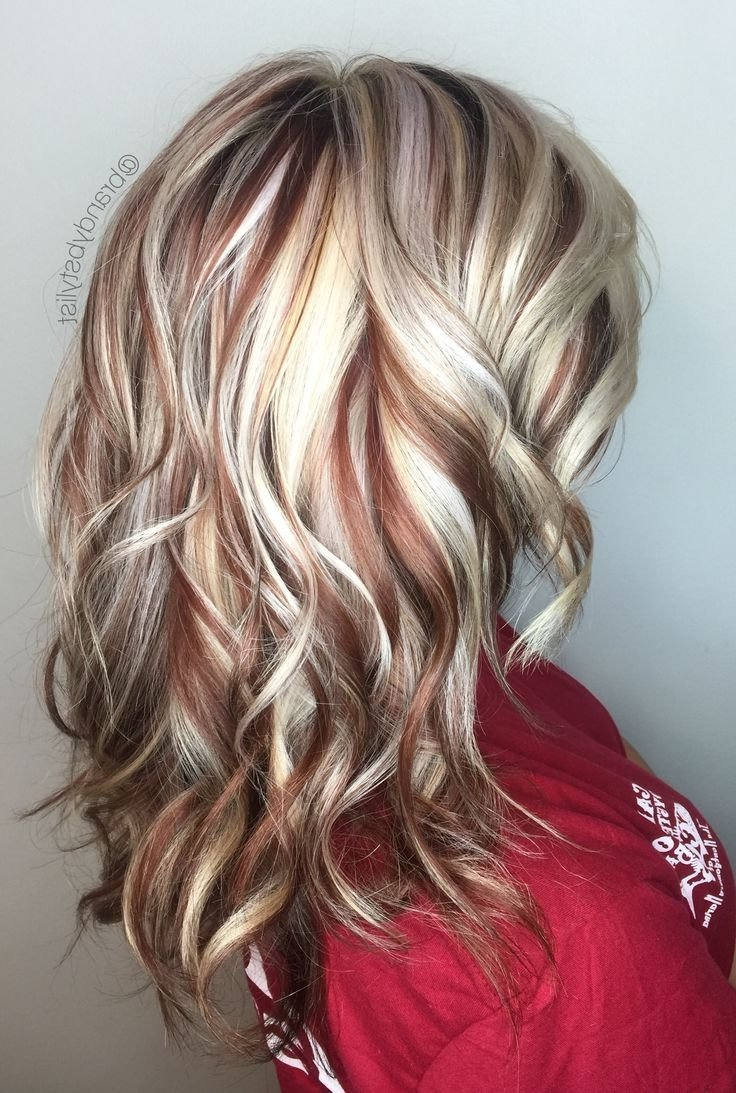 Hair Color Ideas Red With Blonde Highlights Makeupsite