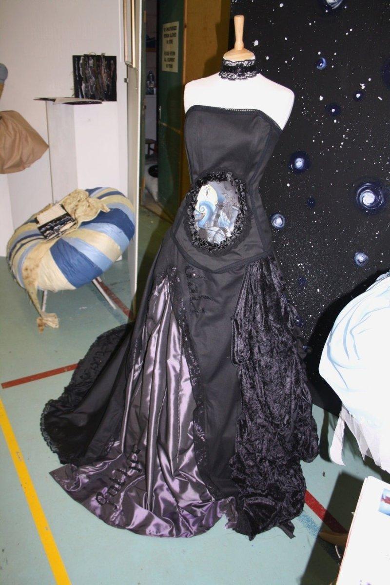 Nightmare Before Christmas Wedding Dress Ideas | Invitationsjdi.org