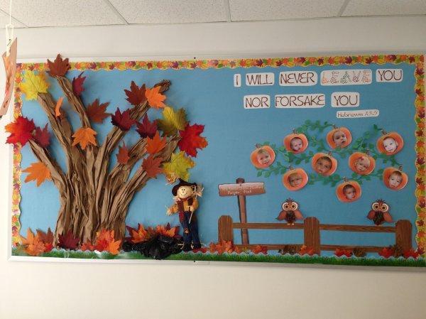 Fall Bulletin Boards Church Nursery Vtwctr