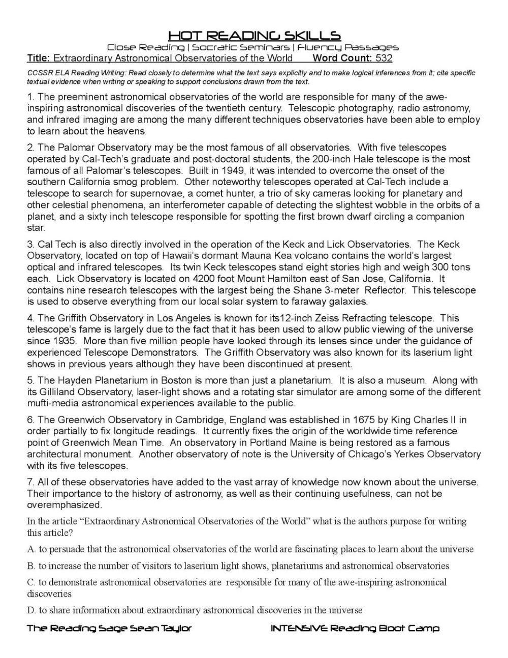 medium resolution of 10 Beautiful Main Idea Worksheets 7Th Grade 2021