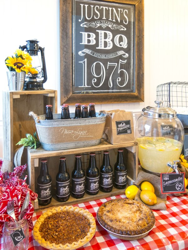 Recommended 40th Birthday Party Ideas Men
