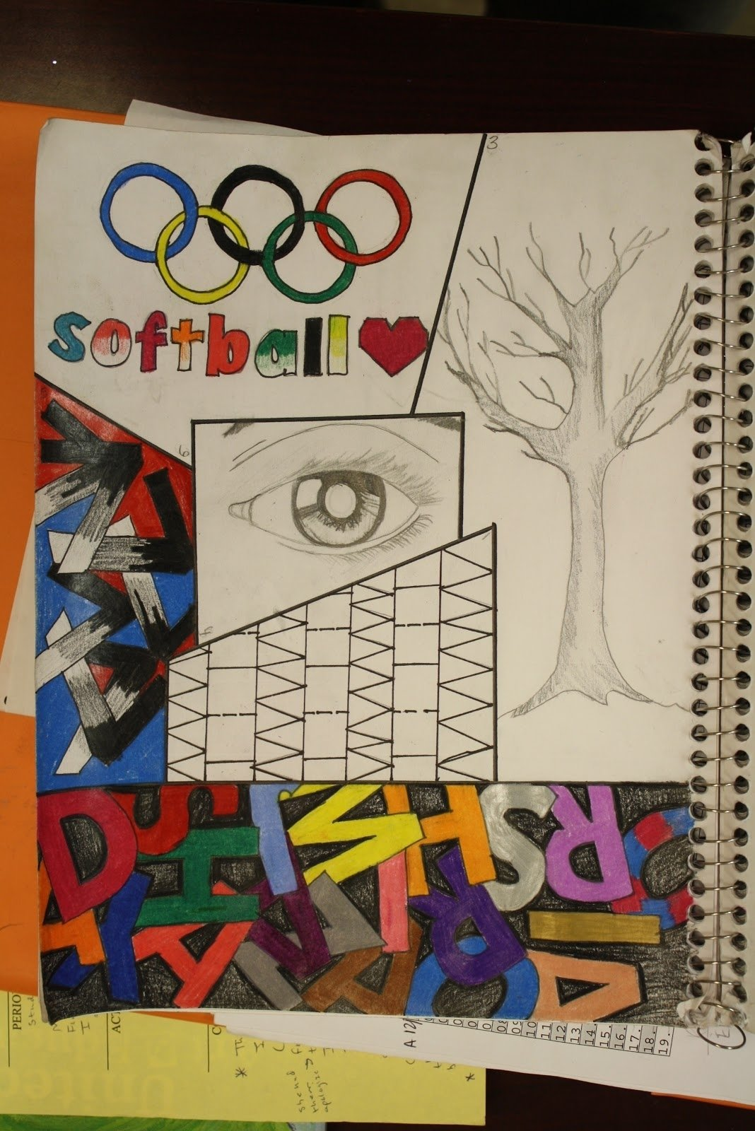 10 Stunning Sketchbook Ideas For Middle School