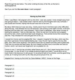 10 Amazing Main Idea Worksheets High School 2021 [ 1065 x 752 Pixel ]