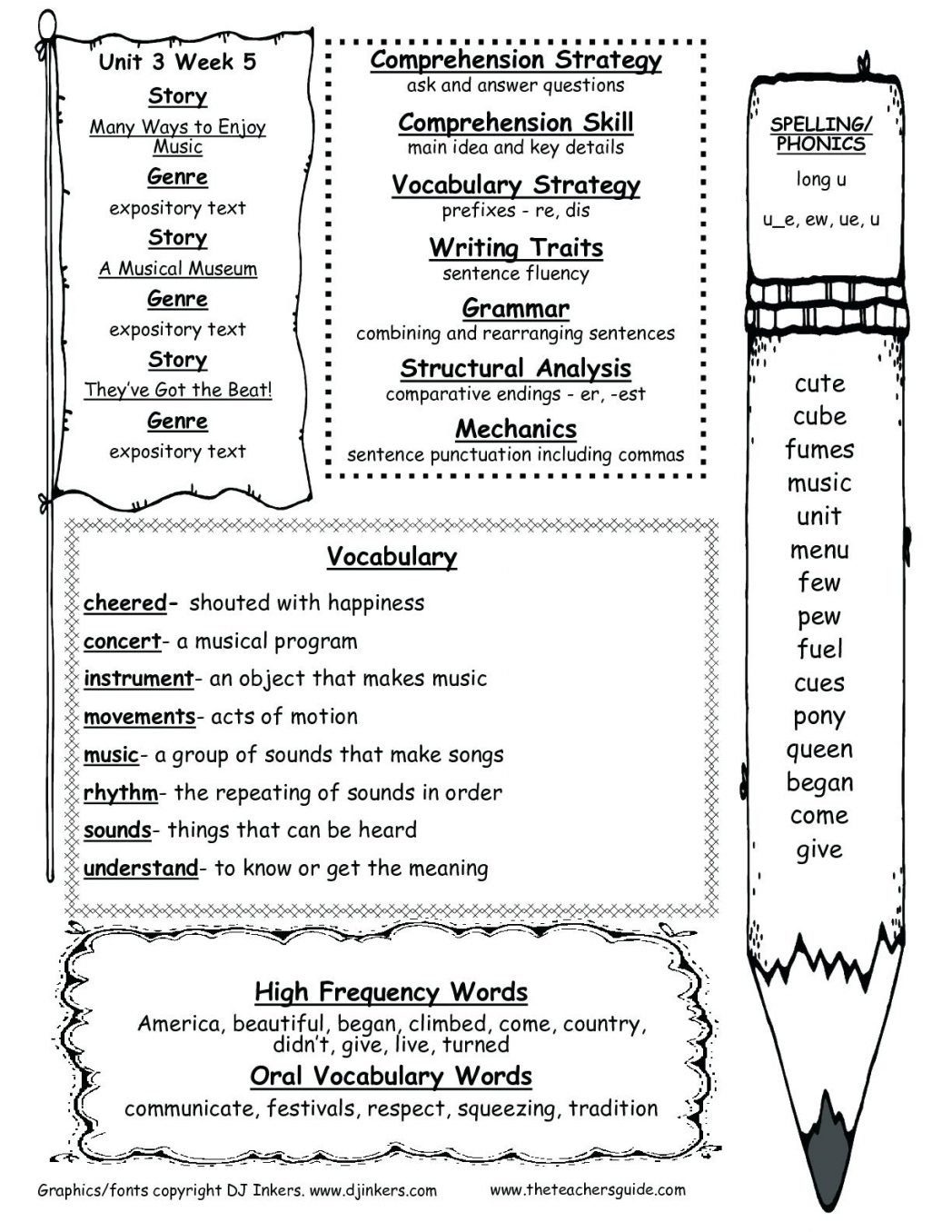 10 Spectacular Main Idea Worksheets For 5th Grade