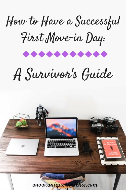 How to Have a Succesful First Move in Day: A Survivor's Guide