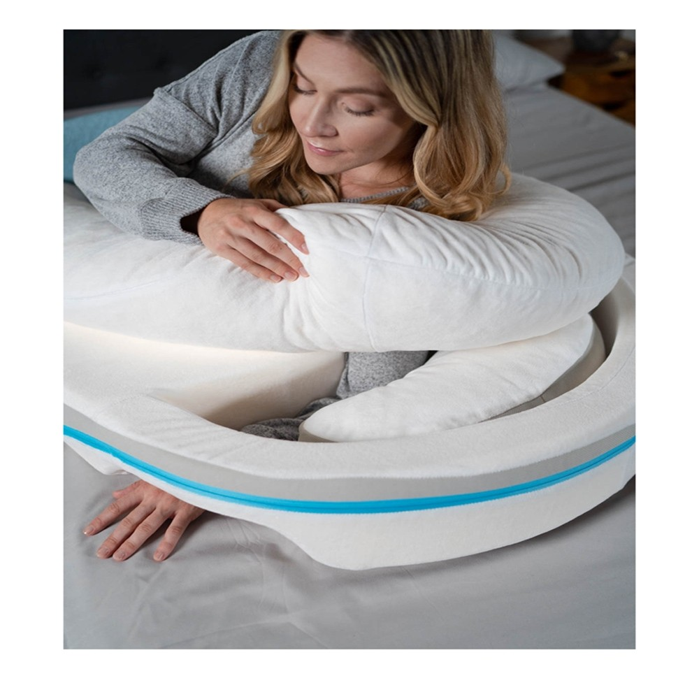medcline lp shoulder system with wedge therapeutic body pillow one size sku mdc 1439 02