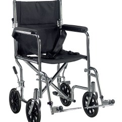 Drive Wheel Chair Lotus Meditation Medical Go Cart Light Weight Steel Transport Wheelchair With Swing Away Footrest 19 Seat