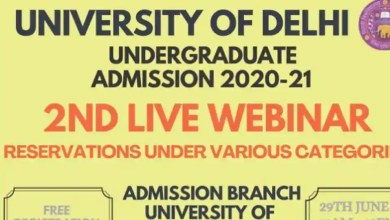 DU second webinar to be conducted on June 29.