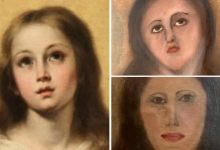 Spanish Painting of Virgin Mary Botched up After Two Restoration Attempts, Viral Pics Remind Netizens of 'Monkey Christ' Ecce Homo Fail