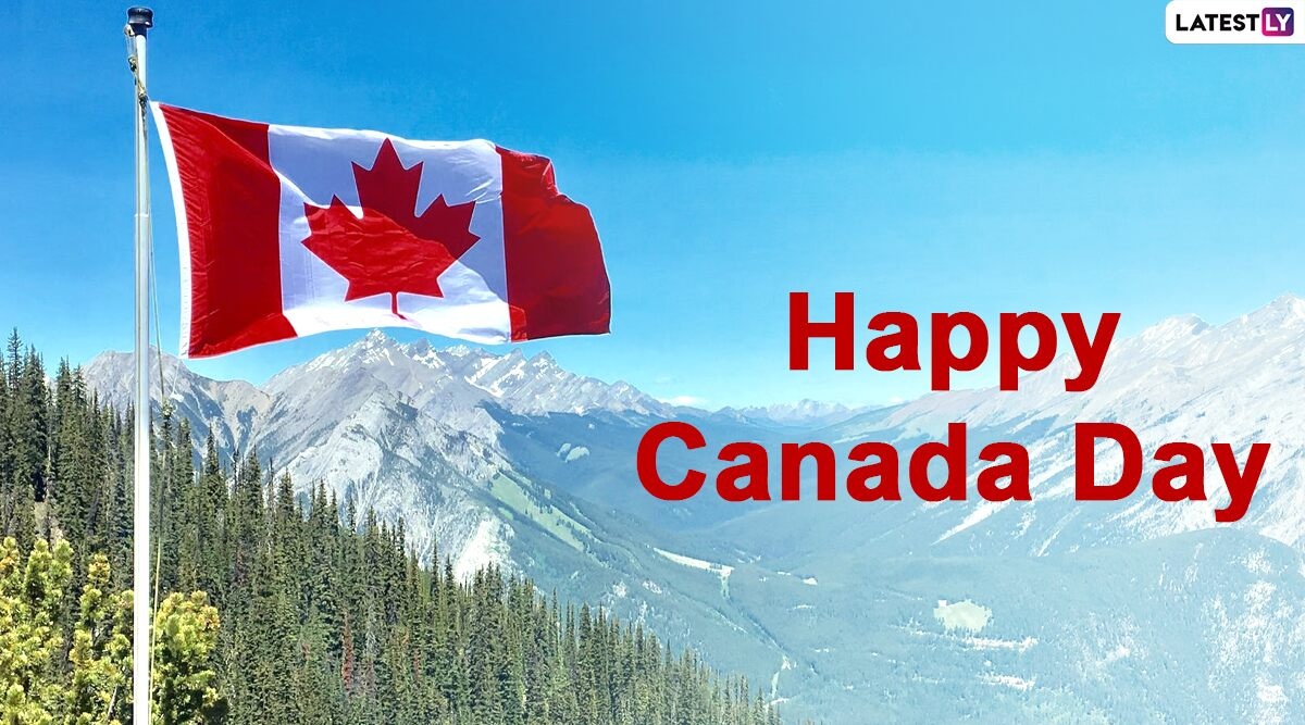Canada Day 2021 Greetings, HD Images and Wishes: Greet Your Loved Ones Happy  Canada Day with These Messages, GIFs and WhatsApp Stickers