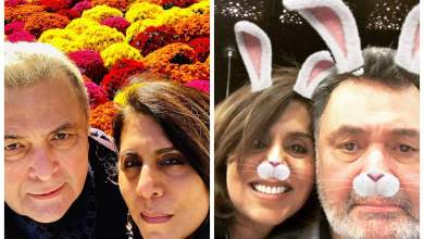 Happy Birthday, Neetu Kapoor: THESE selfies of the actress and husband Rishi Kapoor are all things love
