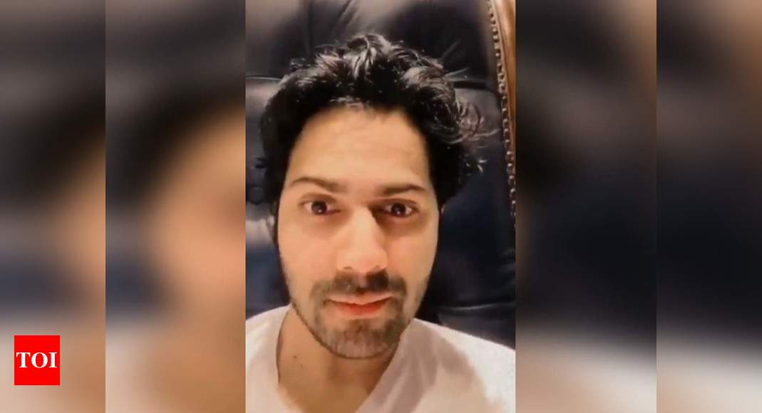 Here's what Varun Dhawan wants to say to all the girls out there; watch the video! | Hindi Movie News