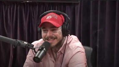 Post Malone wears a University of Utah hat on Joe Rogan's podcast, explains why he moved to Utah