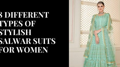 8 Different Types of Stylish Salwar Suits for Women