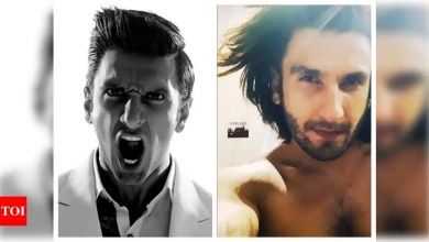 Ranveer Singh shares a glimpse of his two contrasting Monday moods and they are right on point | Hindi Movie News