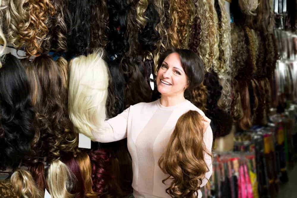 Human Hair Wigs for ladies