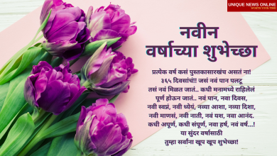 Happy New Year Wishes in Marathi: Share These New Year 2021 Messages and Greetings