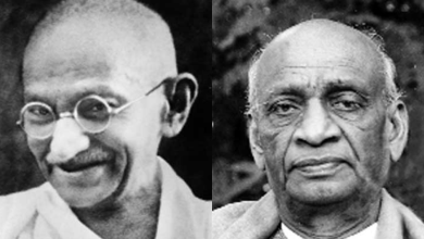 Sardar Patel was surrendered in front of this decision of Gandhiji