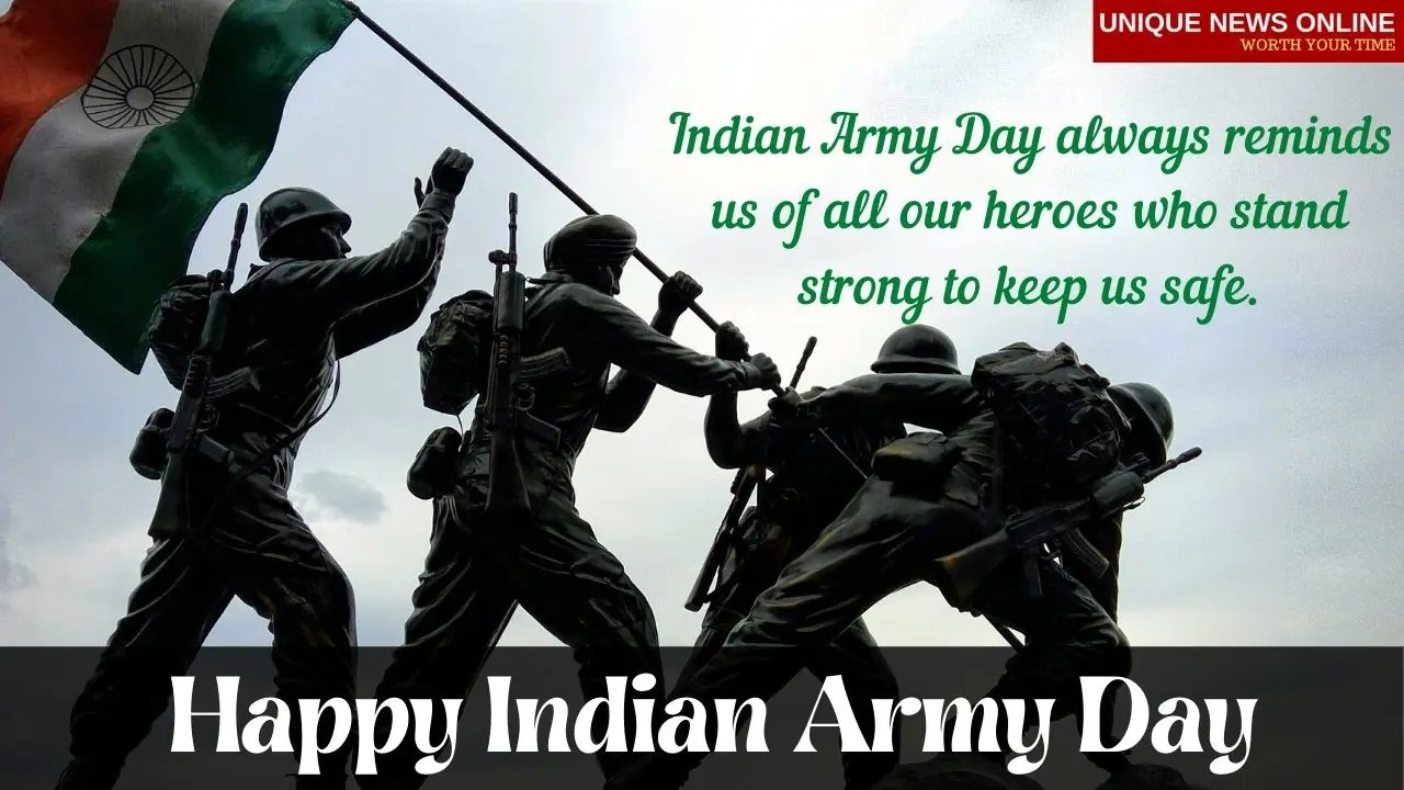 Born to fight, trained to kill, prepared to die, but never will. Happy Indian Army Day 2021!