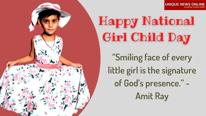 Happy Girl Child Day Wishes