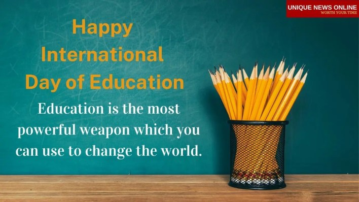 International Education Day Greetings