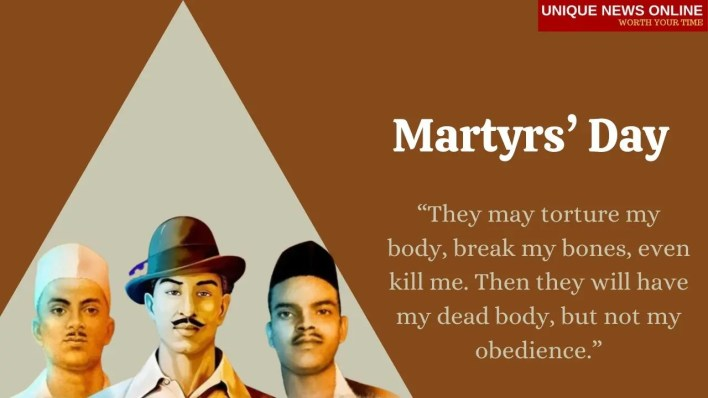 Martyrs' Day Quotes