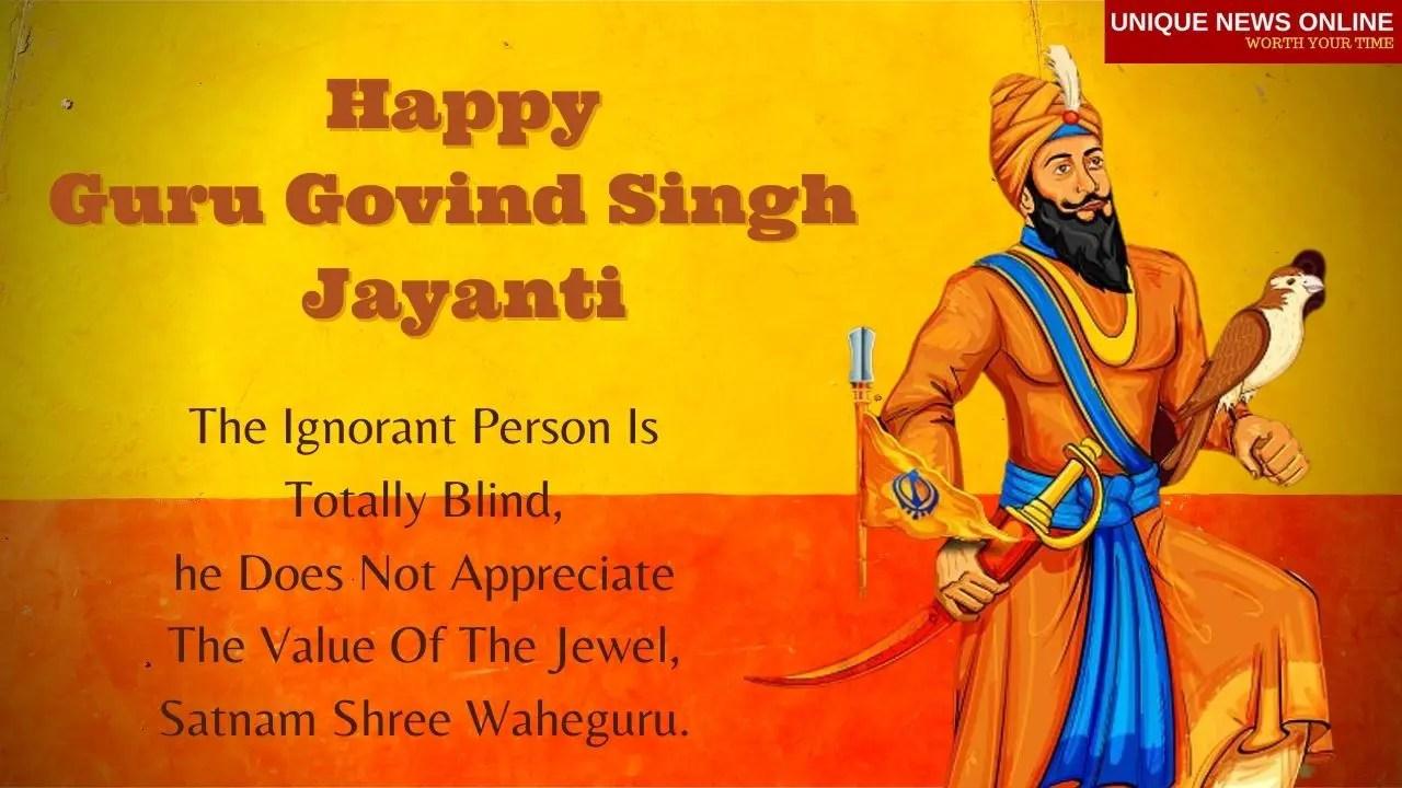 Happy Guru Govind Singh Jayanti