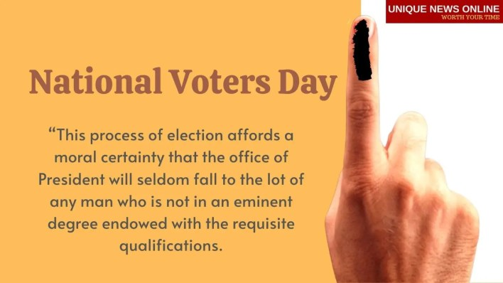 Voters Day in India