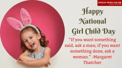 Happy National Girl Child Day 2021 Wishes, Images, Messages, Greeting, and Quotes to Share