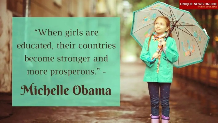 Girl Child Day Greetings