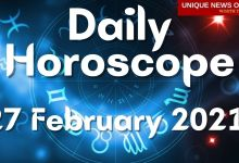 Daily Horoscope: 27 February 2021, Check astrological prediction for Aries, Leo, Cancer, Libra, Scorpio, Virgo, and other Zodiac Signs