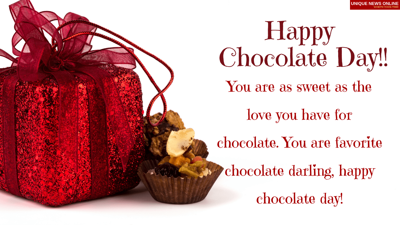 Happy Chocolate Day 2021 Wishes, Greetings, Messages, and Quotes to Share
