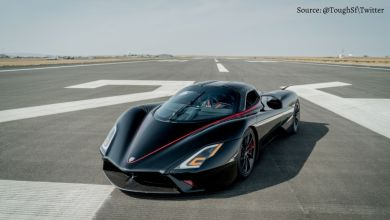 This is the fastest car in the world, catches speed of 500 kmph in 10 seconds