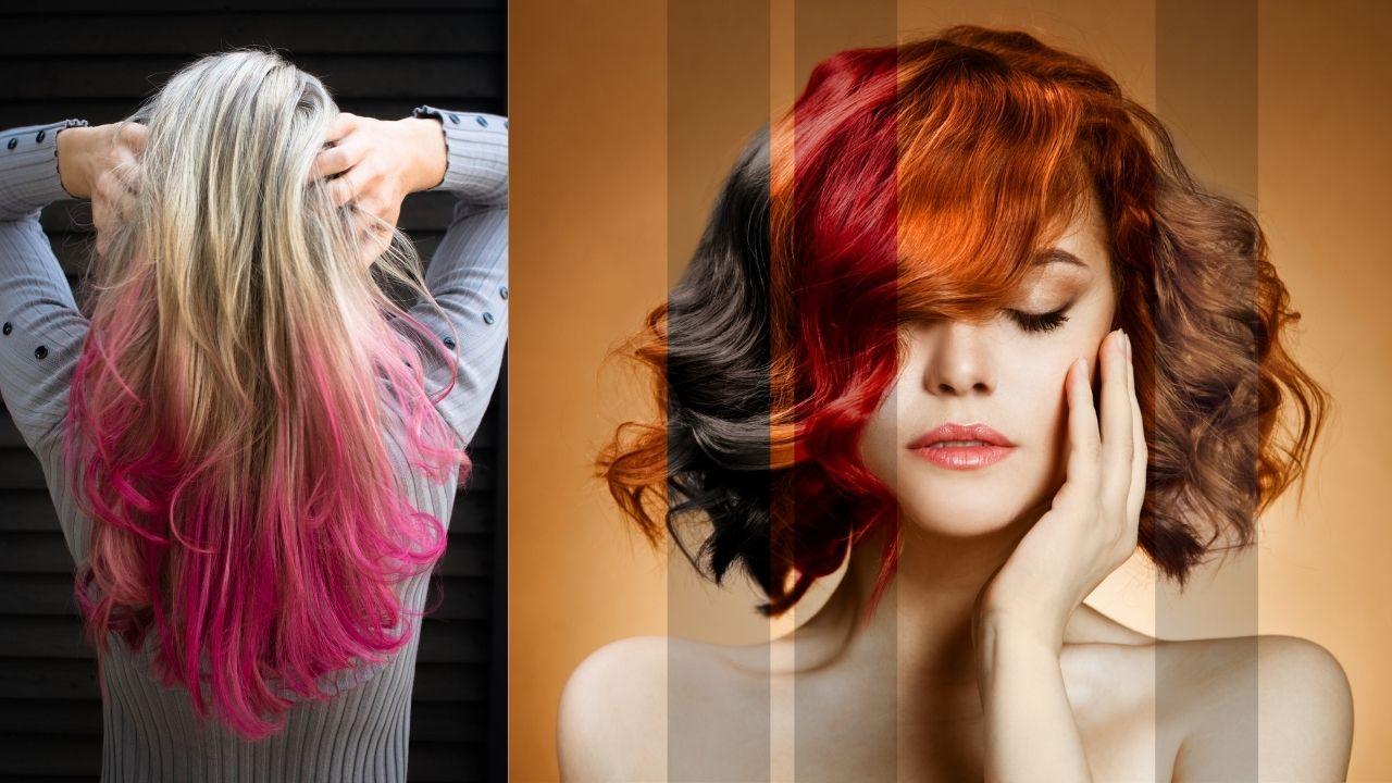 If you also get color in hair, then read the damage caused by it