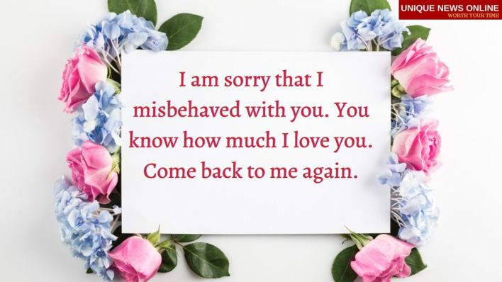 Gf for sorry quotes I Am