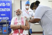 PM Modi takes the first dose of COVID-19 vaccine, appeals to people