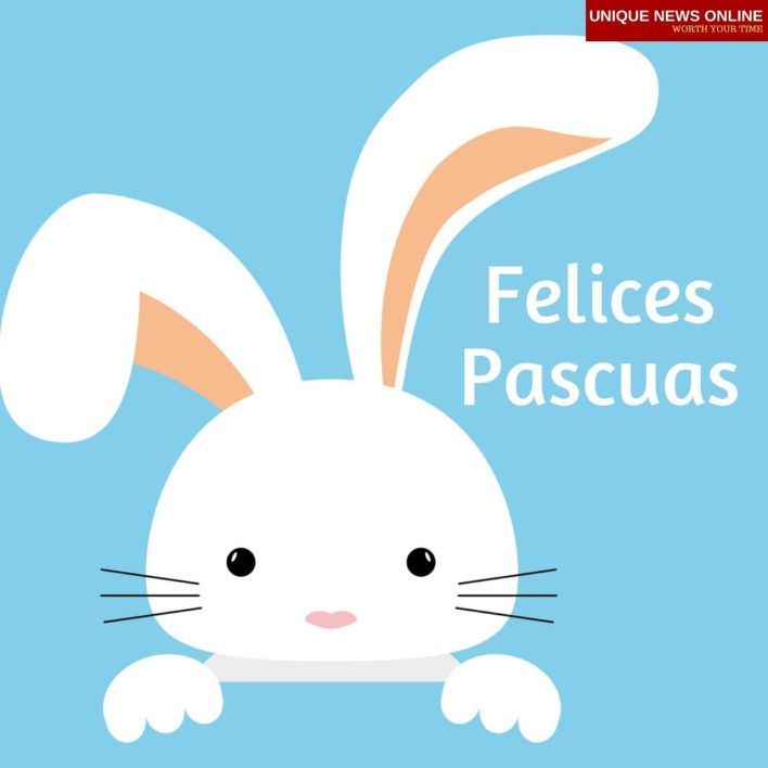 Happy Easter Wishes in Felices pascuas