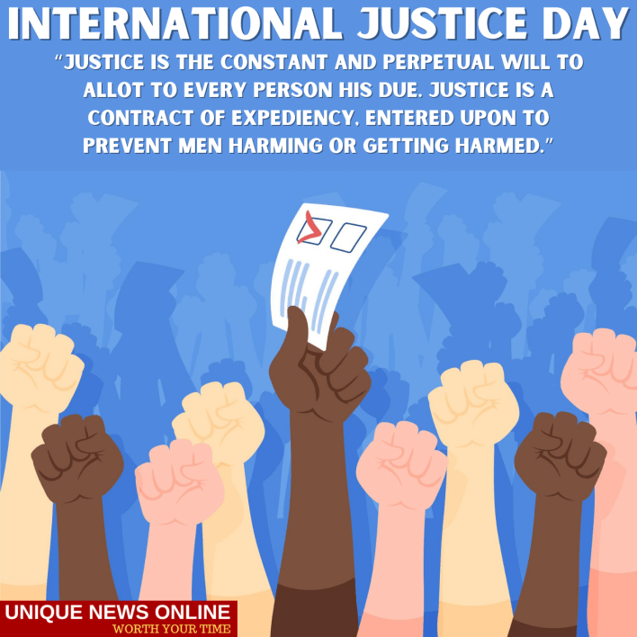 World Day of International Justice Messages