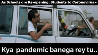 """1 सप्टेंबरपासून अनेक भारतीय राज्यांमध्ये शाळा पुन्हा उघडल्या, विद्यार्थ्यांनी सांगितले कोरोना - """"क्या महामारी बनेगा रे तू"""", मजेदार मेम्स तपासा"""