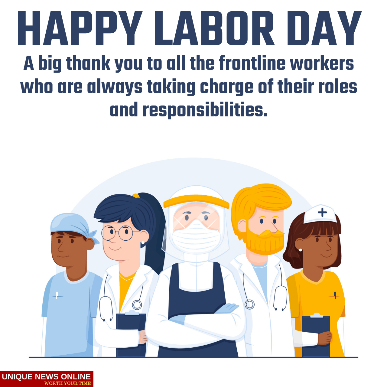 Happy Labor Day 2021 Quotes, Images, Wishes, Greetings, Instagram Captions, and Stickers for Frontliners