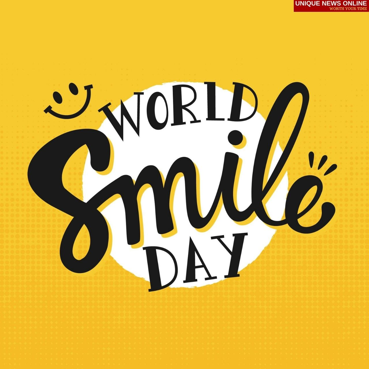 World Smile Day 2021 Quotes, Poster, Wishes, HD Images, Messages, Meme and Gif to Share