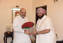 Captain Amarinder Singh met Amit Shah, his advisor said - talked over agricultural laws