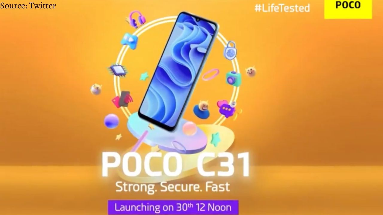 Poco C31 smartphone will be launched in India today, will easily fit into your budget